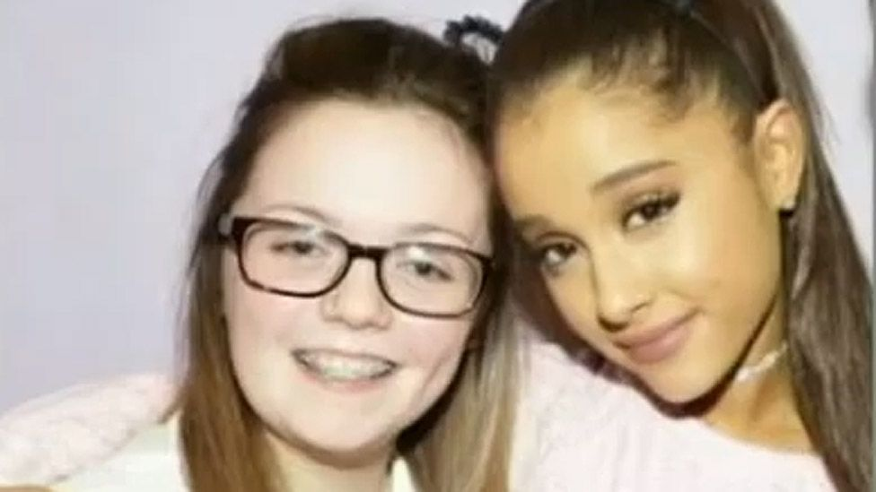 Georgina Callander and Ariana Grande