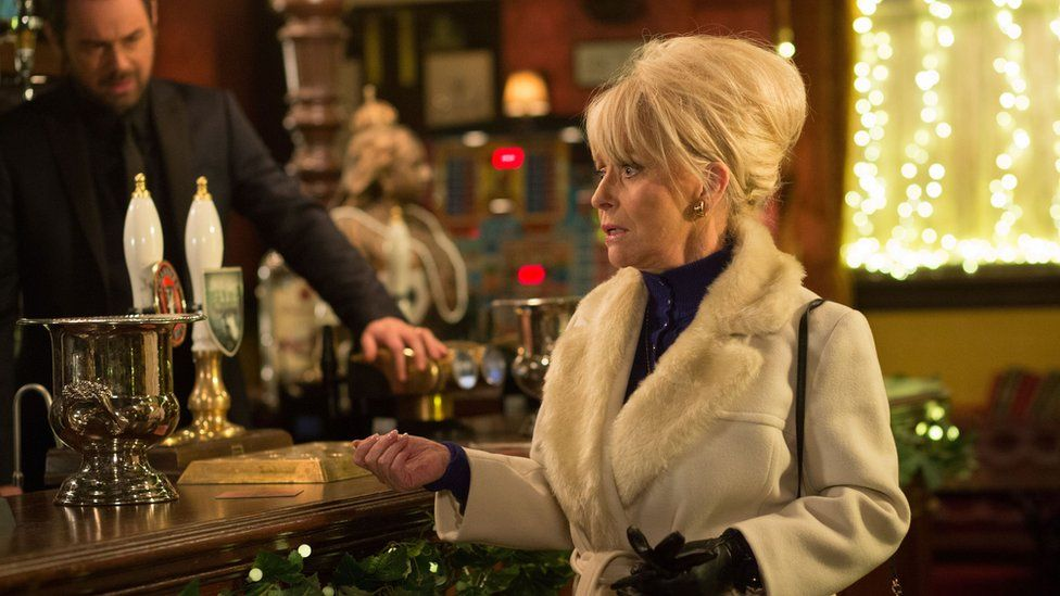 Barbara Windsor and Danny Dyer in EastEnders
