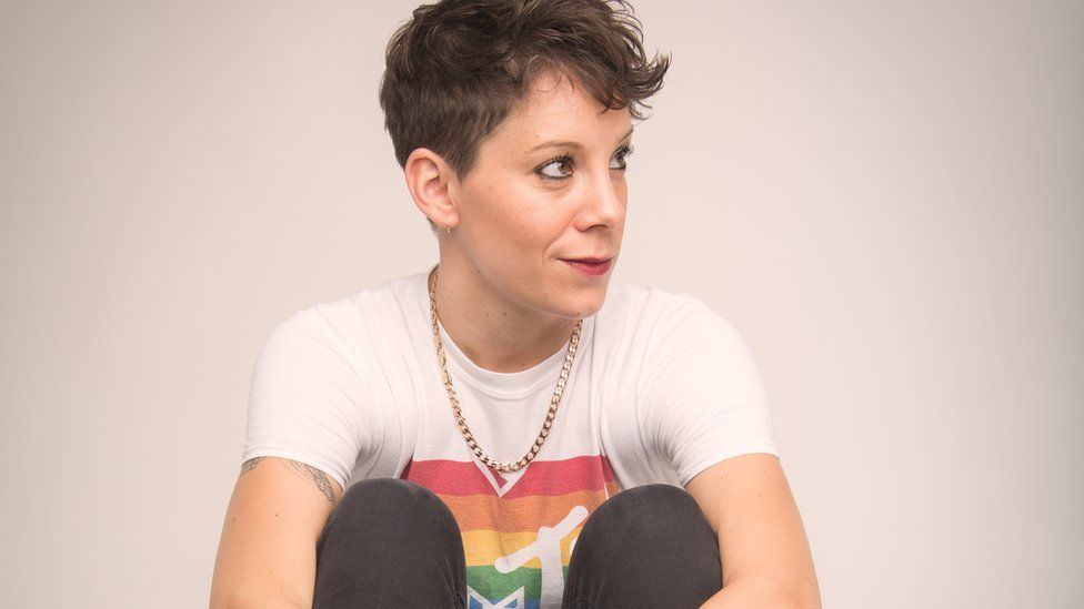 Suzi Ruffell has played a mixture of online and socially-distanced comedy gigs since lockdown