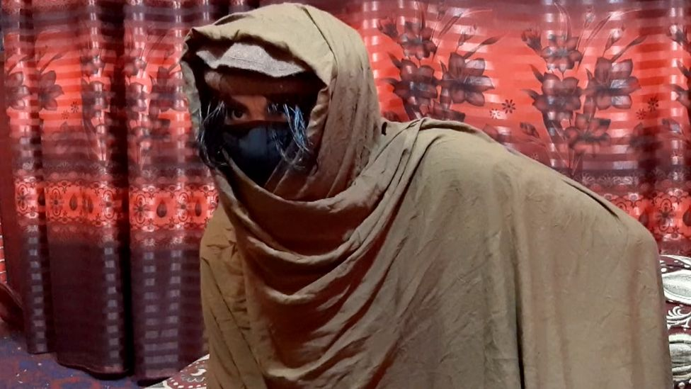The Taliban fighter who asked to be known as Khanjar