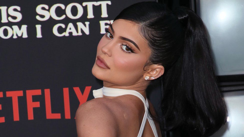 Kylie on a red carpet