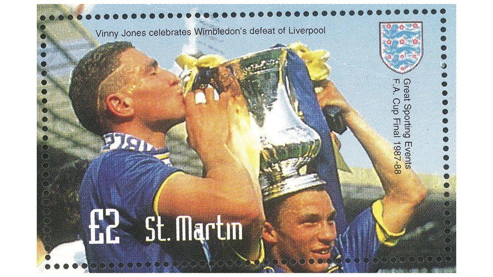 Vinnie Jones ar stamp