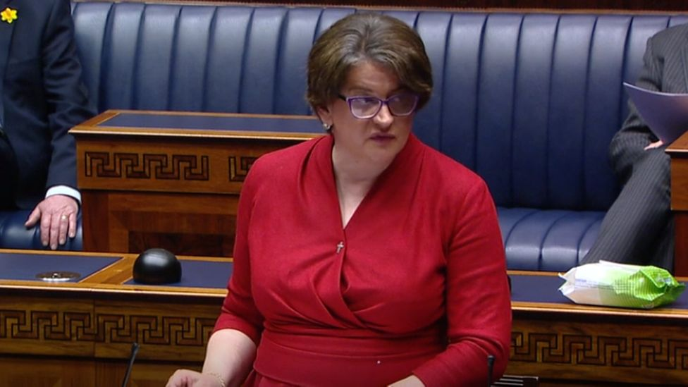 Arlene Foster announced key changes to NI's coronavirus restrictions