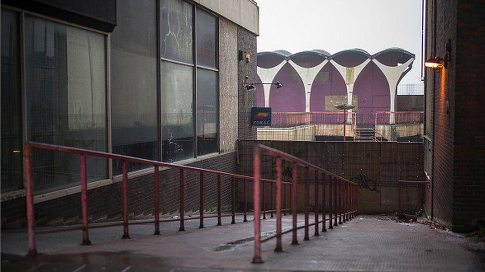 Hanley Shopping Centre in Stoke-on-Trent