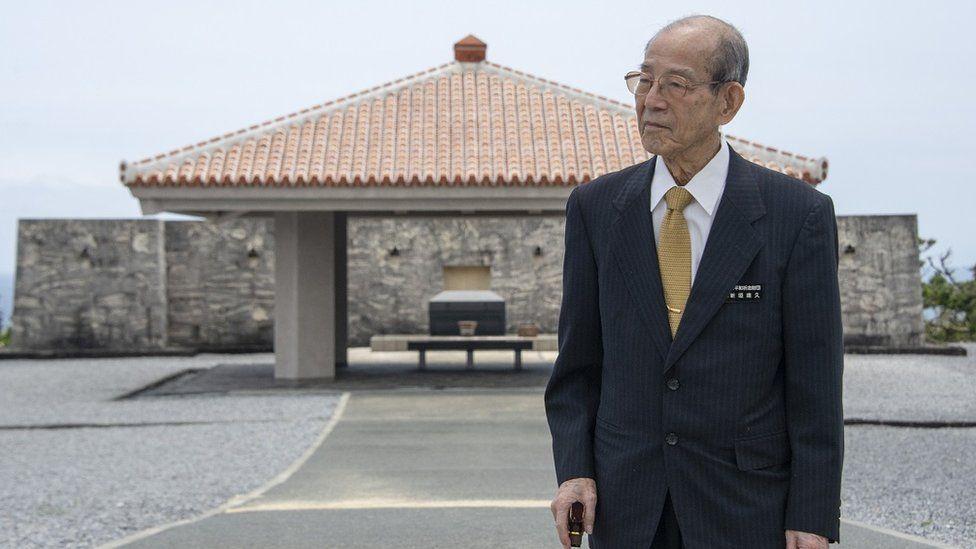 Ông Takehisa Arakaki, Chủ tịch Quỹ Tưởng niệm Hòa bình Okinawa (Okinawa Peace Memorial Foundation).