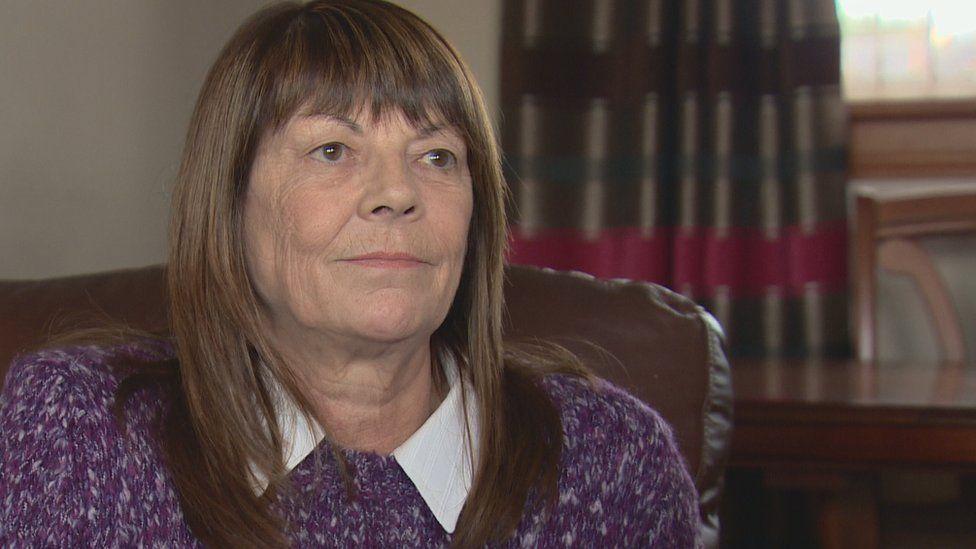 Former worker Margaret Gibson
