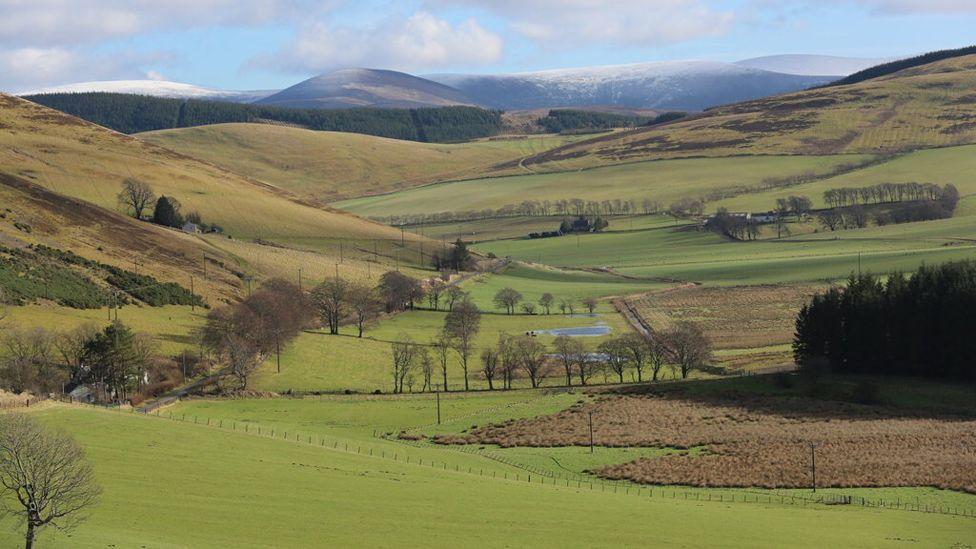 Hills near Biggar