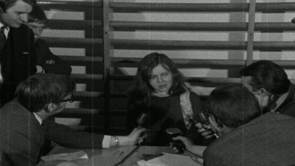 Bernadette McAliskey in 1969
