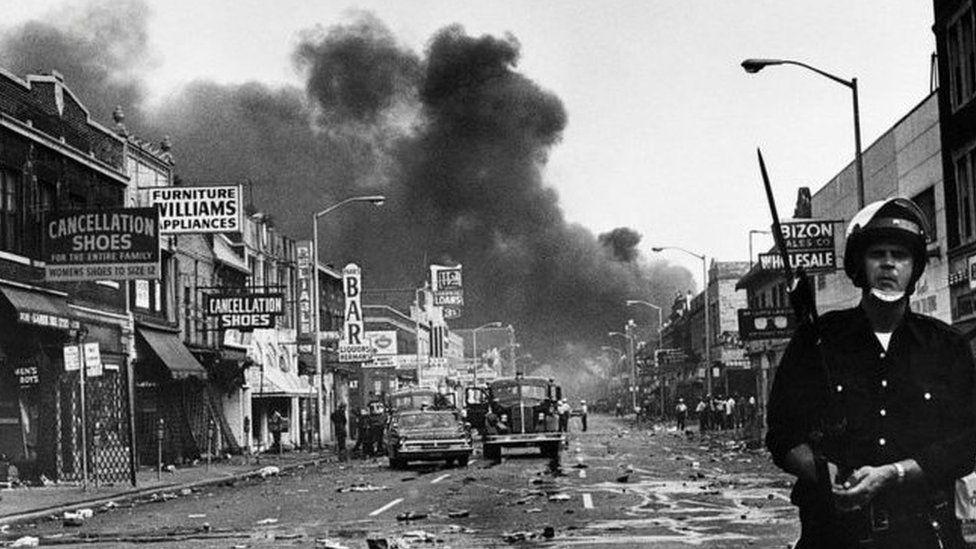 1967年7月23日的底特律