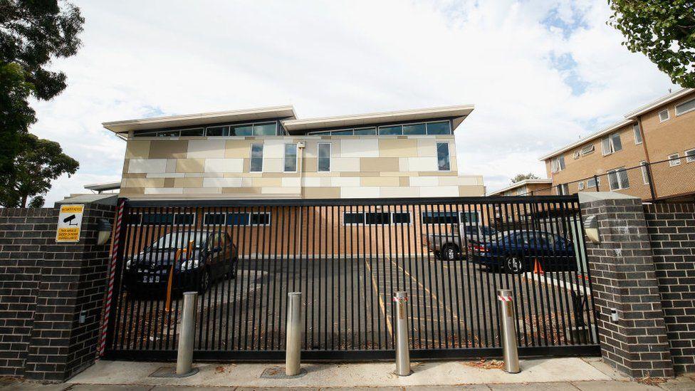 The outside of Adass Israel School in Elsternwick, Melbourne, Australia (12 April 2018)