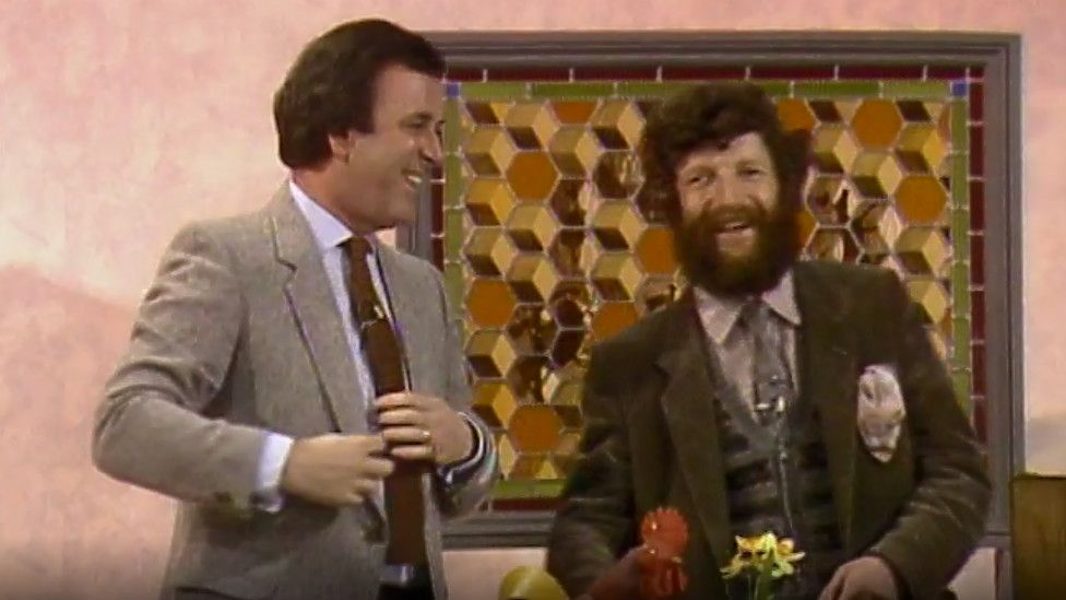 Terry Wogan and Kit Williams