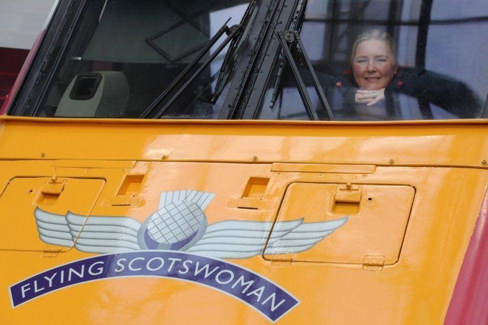 The Flying Scotswoman
