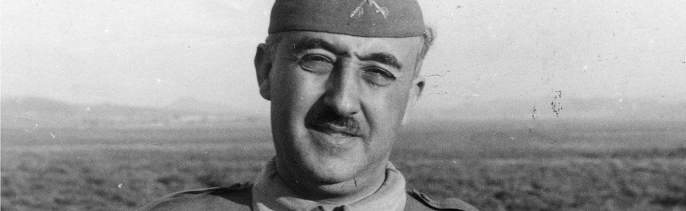 Spanish military dictator General Francisco Franco on 27 August 1937