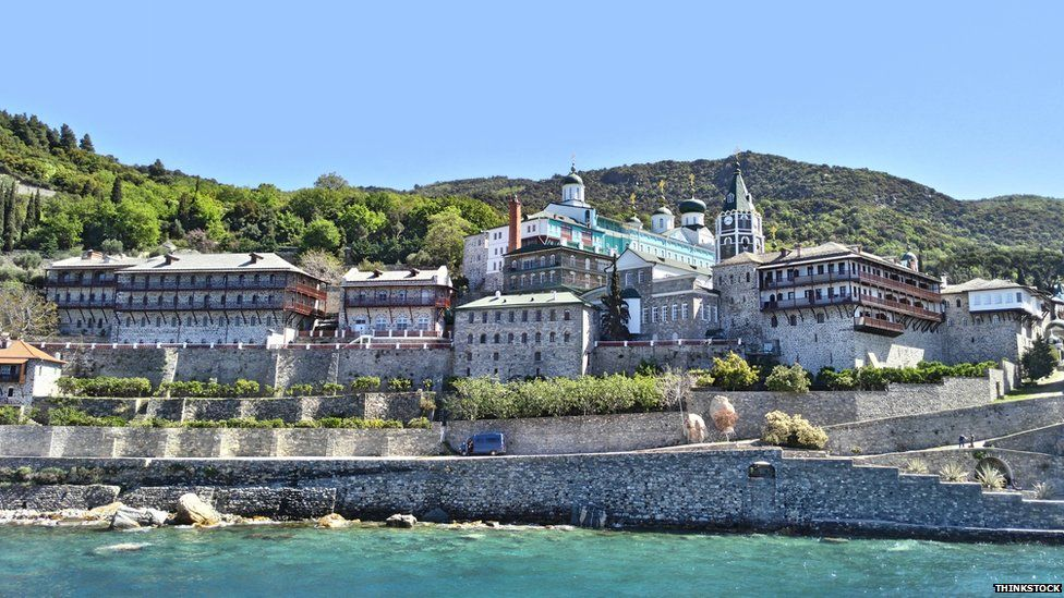 Monastery of St. Panteleimon, Greece