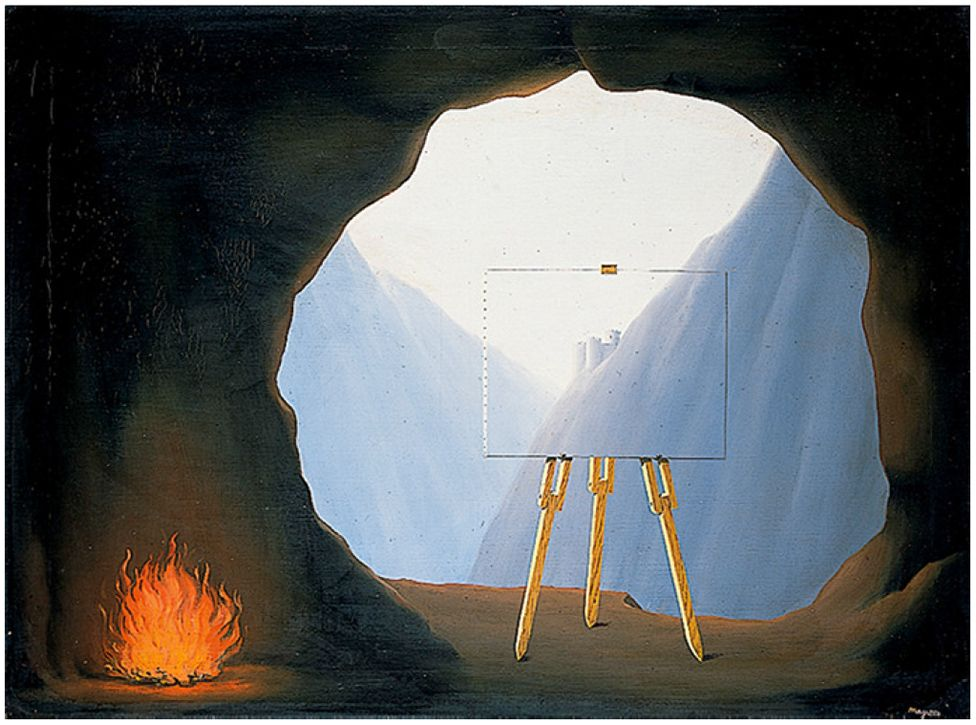 La Condition Humaine by Rene Magritte