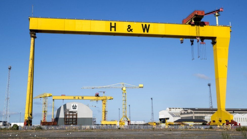 Harland and Wolff: Belfast shipyard receives non-binding offers