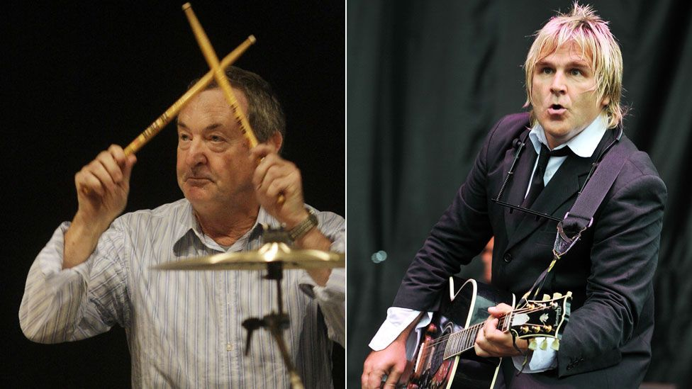 Nick Mason and Mike Peters