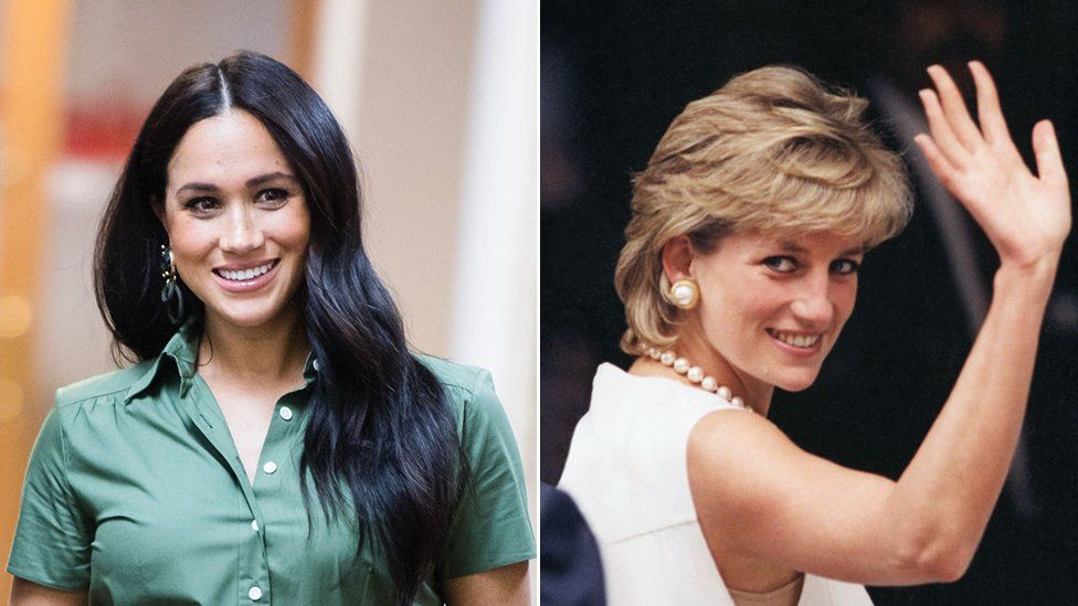 This Is Why Meghan Markle Gets Compared To Princess Diana Bbc News