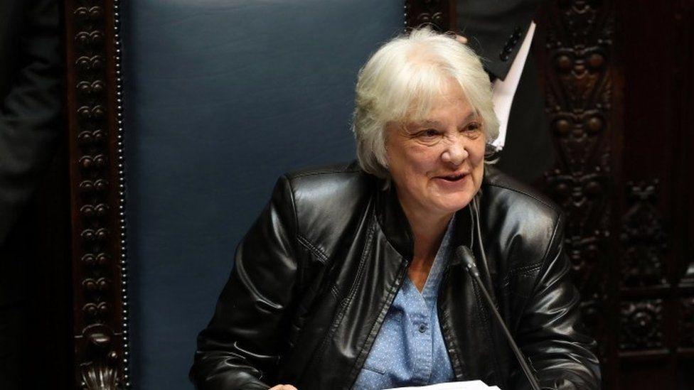 Lucía Topolansky, la recia mujer a la que el miedo juntó con José Mujica y que ahora es vicepresidenta de Uruguay