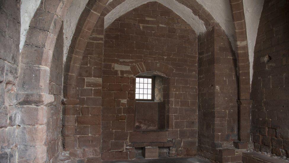 Chester castle arch