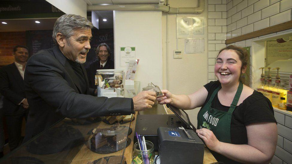 George Clooney paying Ciara Whelan