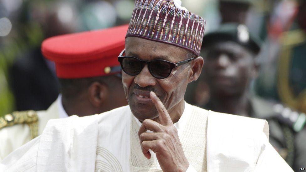 President Muhammadu Buhari. 29 May 2015