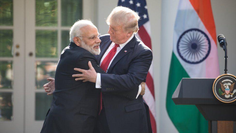 Modi and Trump holding bilateral talks in Washington