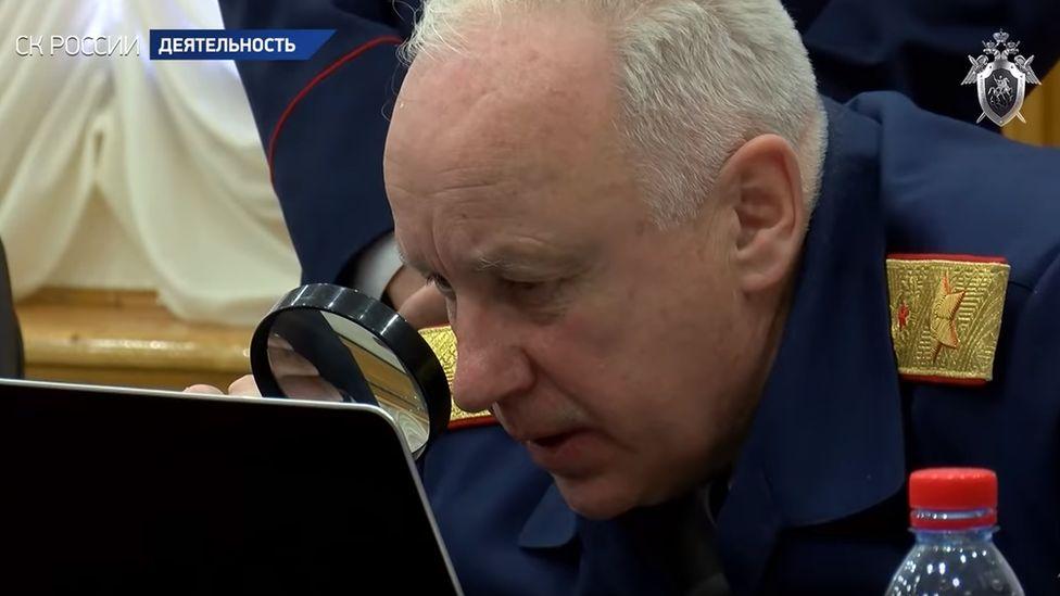 Russian Investigative Committee chief Alexander Bastrykin, March 2019