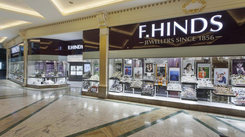 F Hinds store in the Trafford Centre