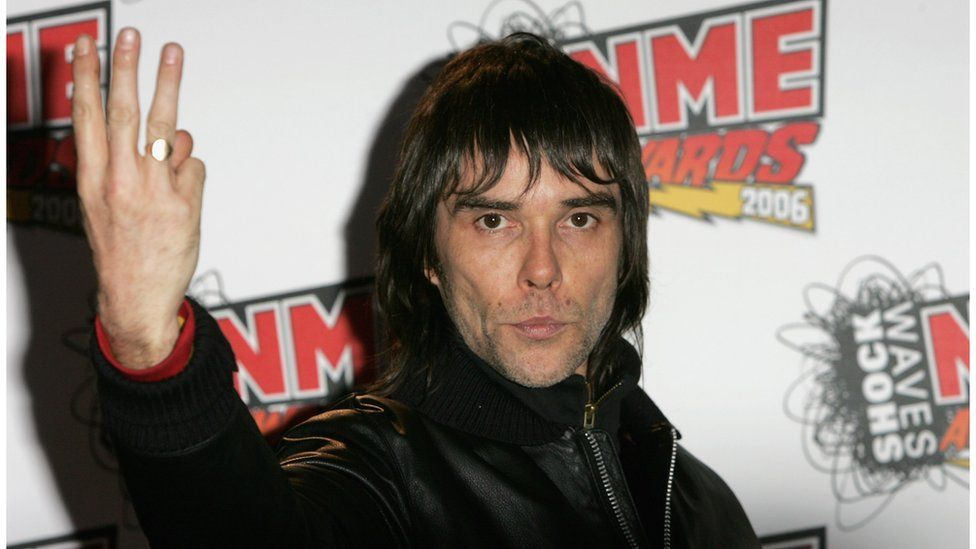 Ian Brown at the NME Awards in 2006