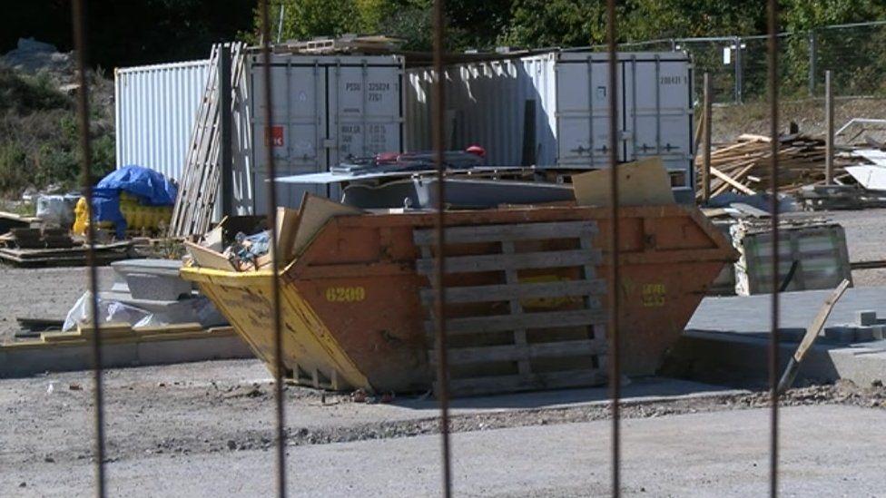 Lovedon Fields building site