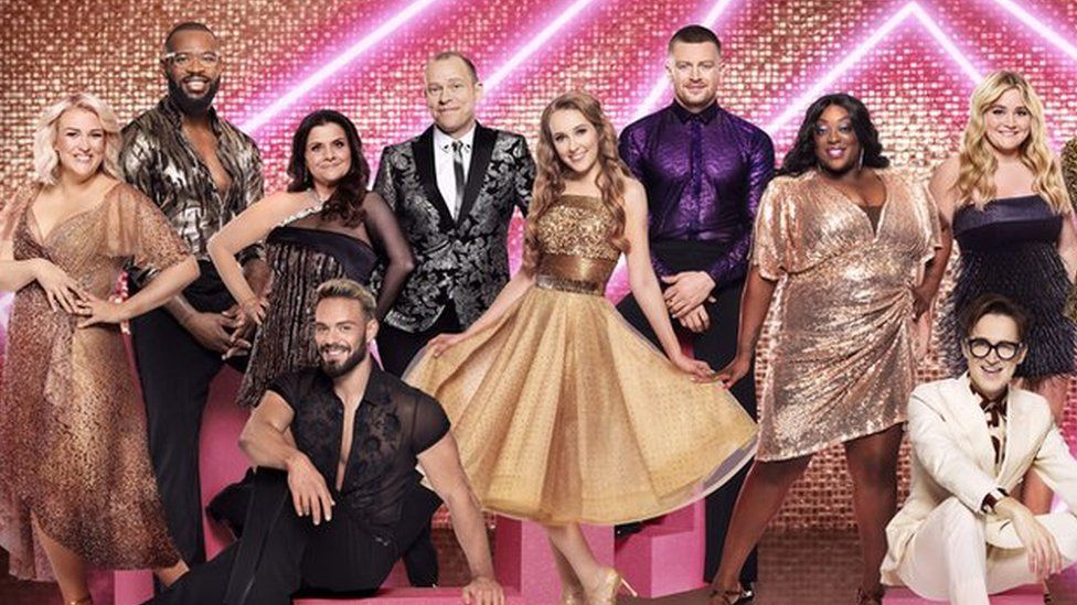 The cast of Strictly Come Dancing 2021