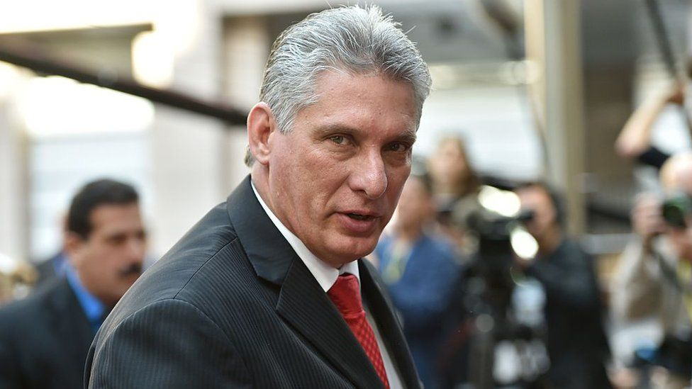 First Vice-President of Cuba Miguel Diaz-Canel Bermudez
