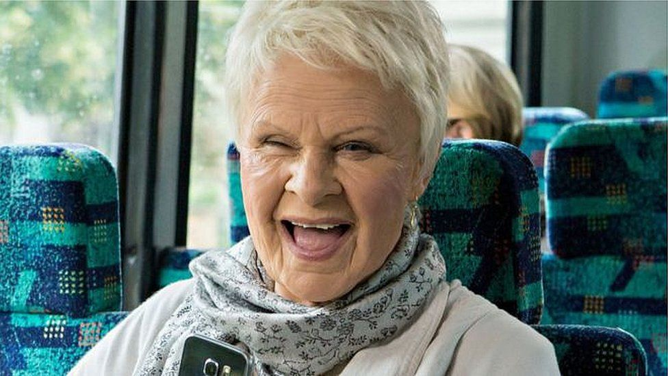 Julie Walters as Dame Judi Dench