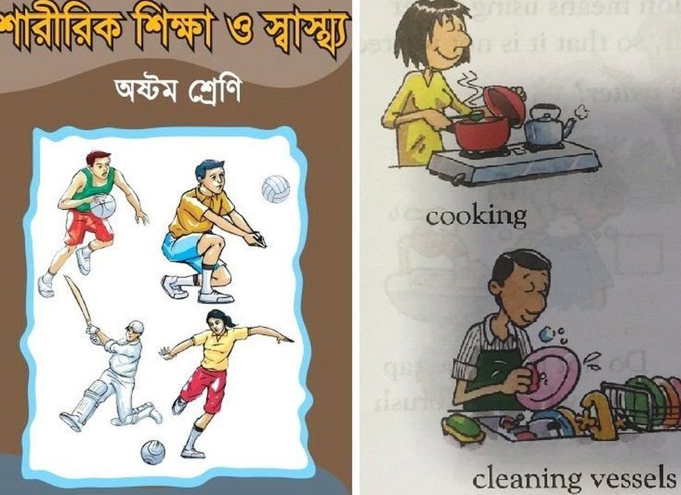 Improved textbooks in Bangladesh and India