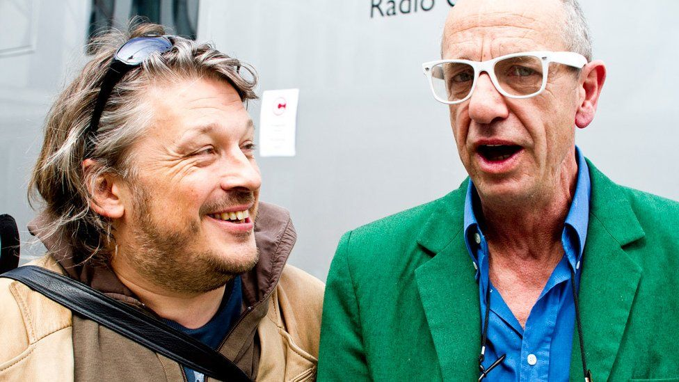 Richard Herring with Arthur Smith in 2011