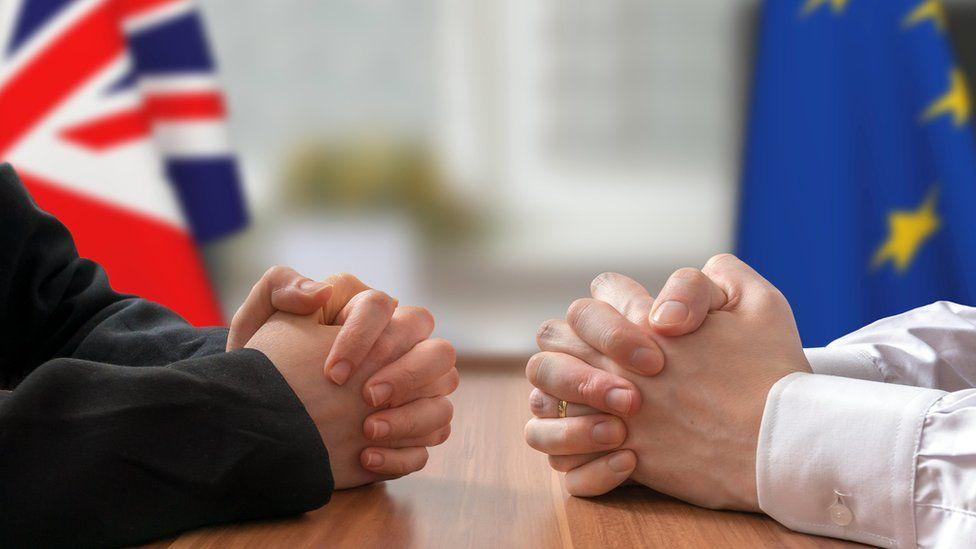 Meeting between UK and EU