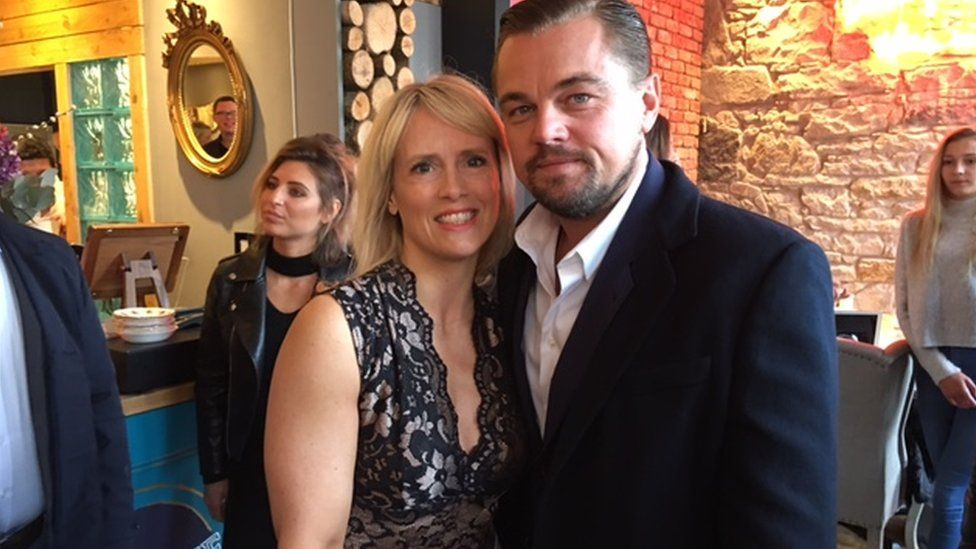 Elise Lovell won a competition to have lunch with Leonardo Di Caprio