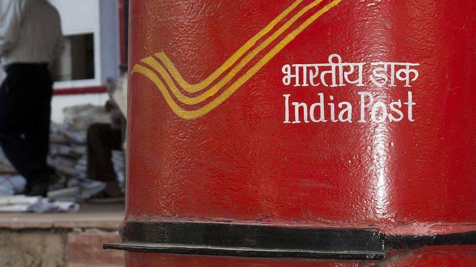 An Indian postbox