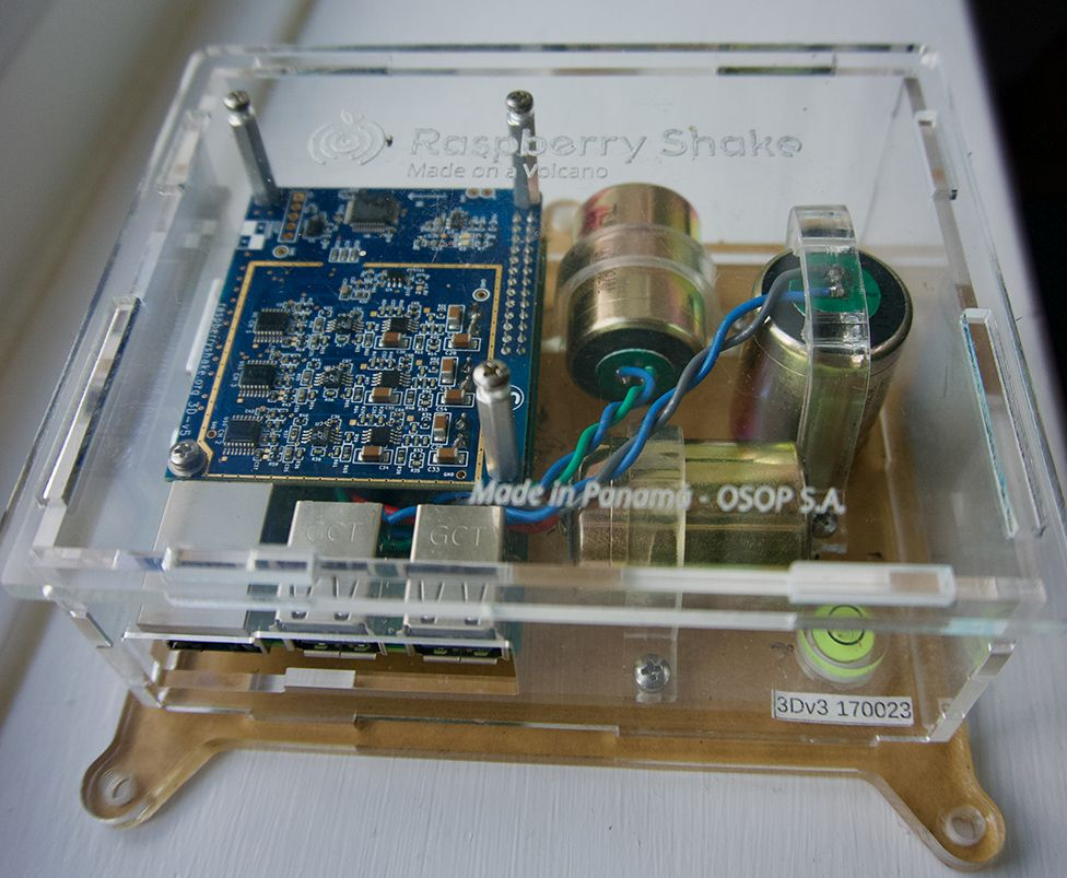 Raspberry-Pi seismometer