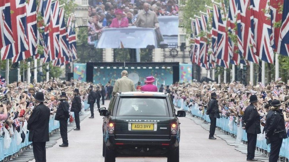 The Queen and Duke and Edinburgh