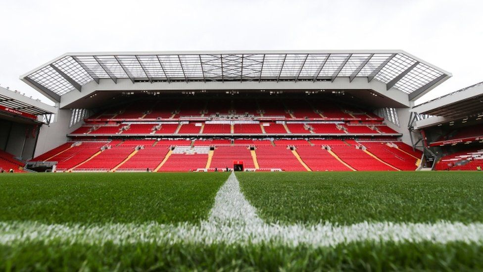 Main stand at Anfield