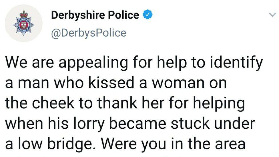 Derbyshire Police twitter appeal