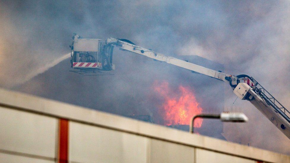 Blochairn fire