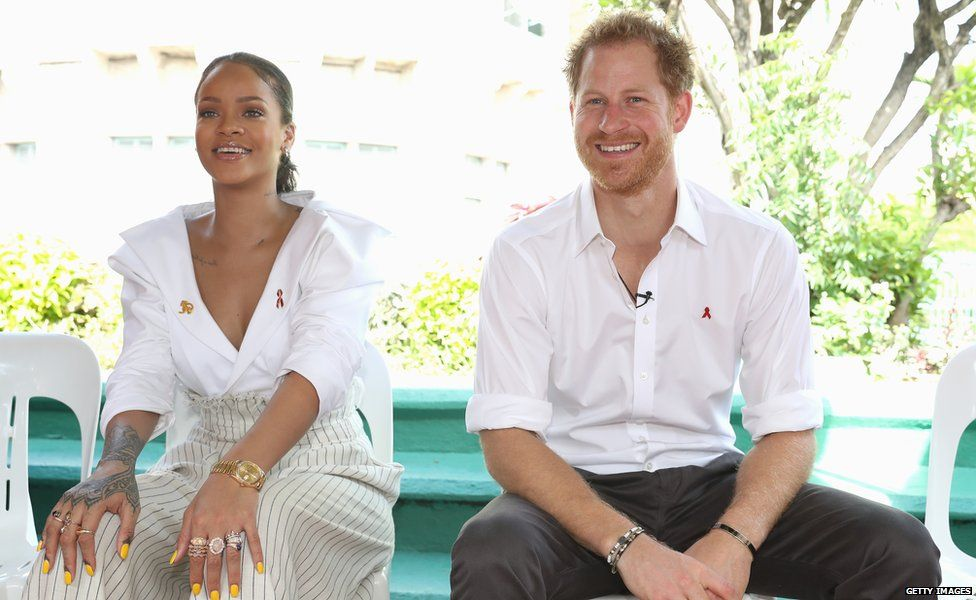 Prince Harry and Rihanna have worked together to encourage people to get tested for HIV