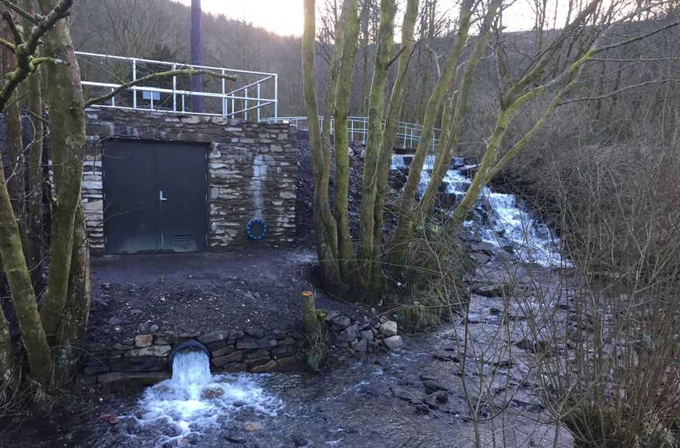 Community hydro project in Treherbert
