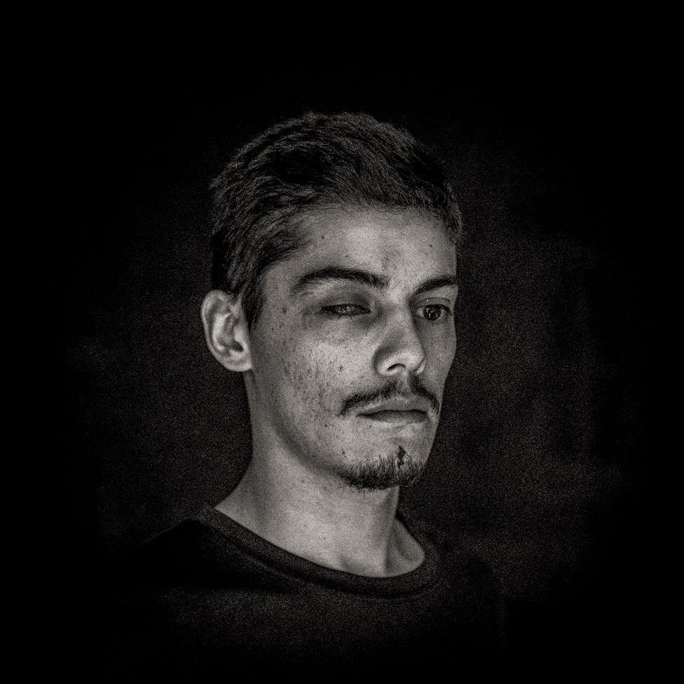 Camilo Gálvez, 24, is a sound technician, Puente Alto, Santiago