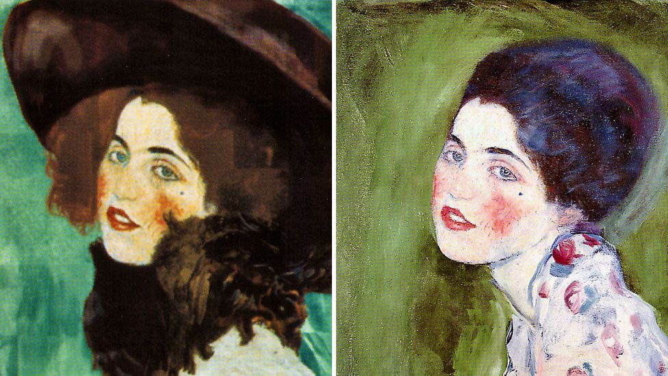 Image result for Portrait of a Lady: Stolen Klimt mystery 'solved' by gardener in Italy