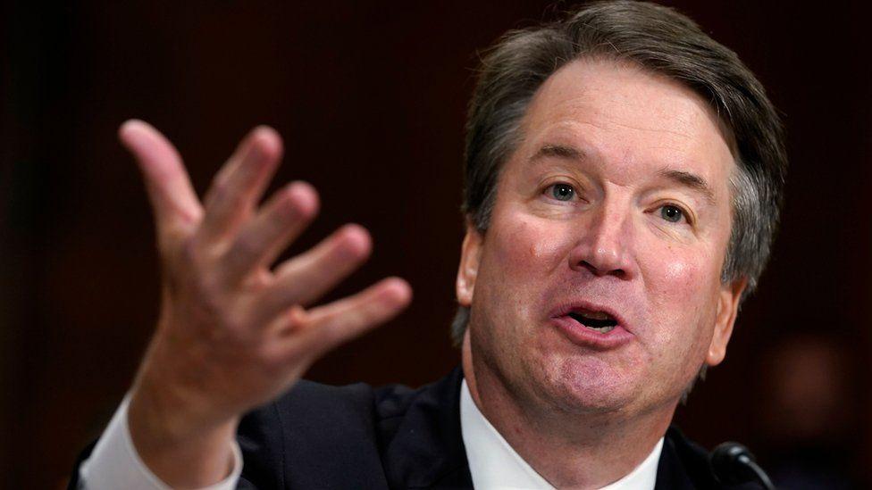 Supreme Court nominee Brett Kavanaugh testifies before the Senate Judiciary Committee on Capitol Hill in Washington on 27 September