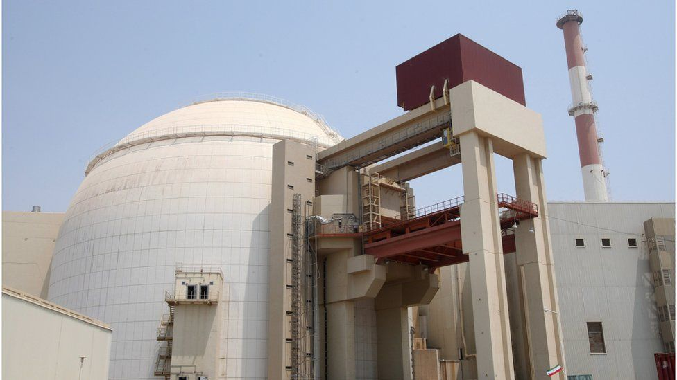 The Bushehr nuclear plant in southern Iran